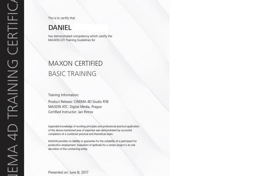 cinema certifikát noname